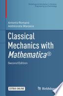 Classical Mechanics with Mathematica   Book
