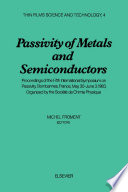 Passivity of Metals and Semiconductors