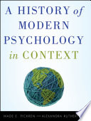 A History of Modern Psychology in Context Book PDF