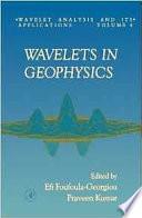 Wavelets in Geophysics