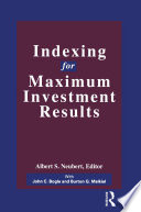 Indexing For Maximum Investment Results Book PDF