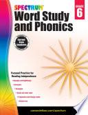 Spectrum Word Study And Phonics Grade 6