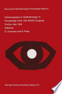Ultrasonography in Ophthalmology XV