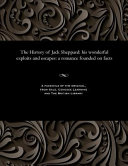 The History of Jack Sheppard