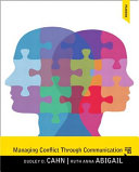 Managing Conflict Through Communication   Mysearchlab With Etext Access Card