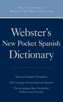 Webster s New Pocket Spanish Dictionary  Omax Custom