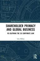 Shareholder Primacy and Global Business
