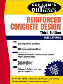 Schaum s Outline of Reinforced Concrete Design