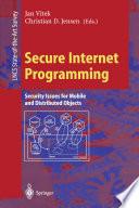 Secure Internet Programming