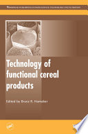 Technology of Functional Cereal Products Book