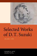 Selected Works of D T  Suzuki  Volume I