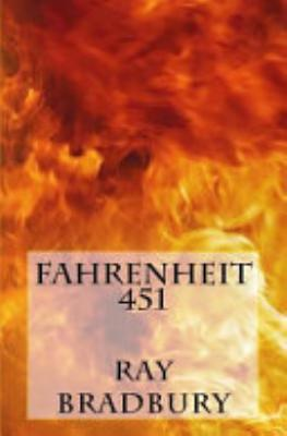 Book cover of 'Fahrenheit 451' by Ray Bradbury