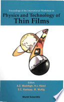Physics and Technology of Thin Films