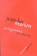 Prolegomena to Charity Book