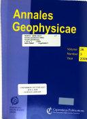 Annales Geophysicae Book