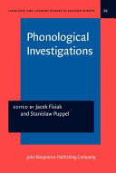 Phonological Investigations