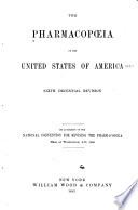 The Pharmacopoeia of the United States of America  The United States Pharmacopoeia