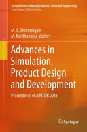 Advances in Simulation, Product Design and Development