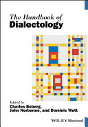 Pdf The Handbook of Dialectology Telecharger