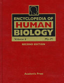 Encyclopedia Of Human Biology My Pl Book PDF