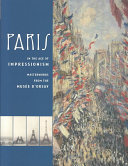 Read Online Paris in the Age of Impressionism For Free