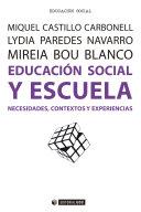 Educación social y escuela