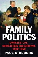 Pdf Family Politics