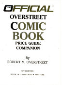 The Official  Small Size  Price Guide to Overstreet Comic Book Price Guide Companion