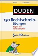 Duden, 150 Rechtschreibübungen