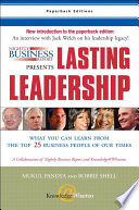 Nightly Business Report Presents Lasting Leadership