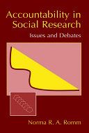Accountability in Social Research Pdf/ePub eBook