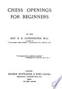 Chess Openings for Beginners by Edward Ernest Cunnington PDF