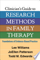 Clinician S Guide To Research Methods In Family Therapy Book PDF