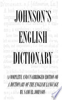 Dictionary Of The English Language Complete And Unabridged