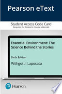 Pearson Etext Essential Environment Access Card