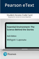 Pearson Etext Essential Environment Access Card