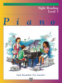 Alfred s Basic Piano Library  Sight Reading Book 3
