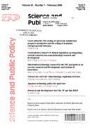 Science & Public Policy