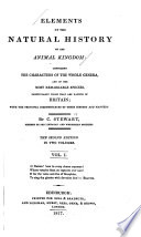 Elements of the Natural History of the Animal Kingdom Book
