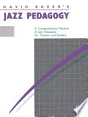 Jazz Pedagogy For Teachers And Students Book PDF