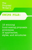 The Proposal Writer s Swipe File
