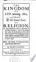 The Kingdom of God among Men Book PDF