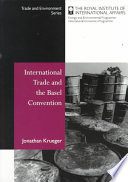 International Trade and the Basel Convention Book
