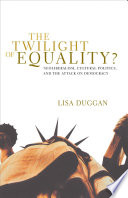 The Twilight of Equality  Book