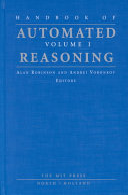 Handbook of Automated Reasoning Book