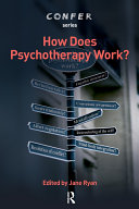 How Does Psychotherapy Work? Book