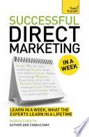 Successful Direct Marketing In A Week Teach Yourself Ebook Epub