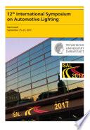 12th International Symposium on Automotive Lightning – ISAL 2017 – Proceedings of the Conference