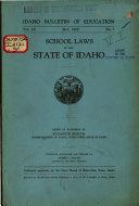 Idaho Bulletin Of Education