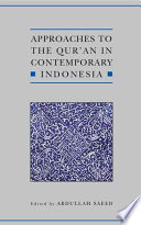 Approaches to the Qur an in Contemporary Indonesia